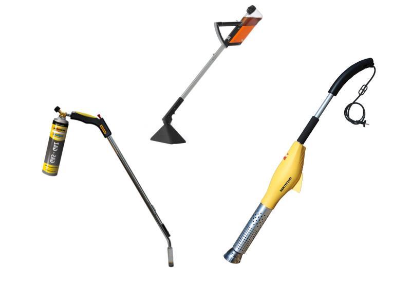 Attrezzature Manuali per diserbo chimico, elettrico o a gas