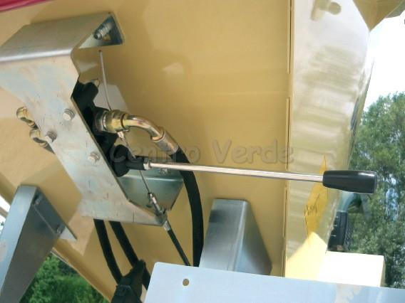 Biotrituratore Negri R225 con Motore Honda GX390 da 13,0 HP Avviamento Elettrico