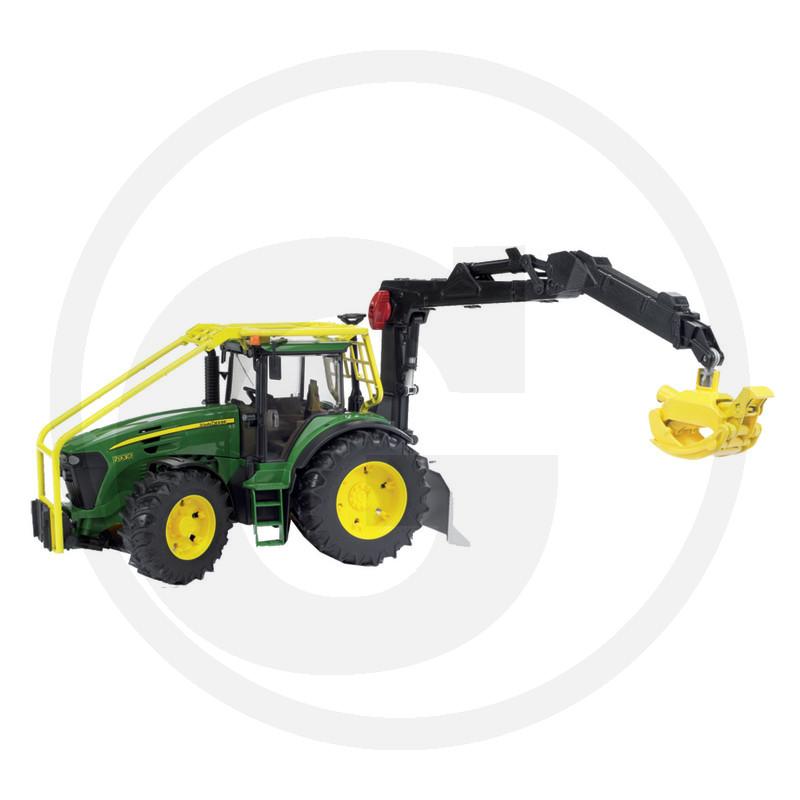 Modello in miniatura trattore forestale John Deere 7930