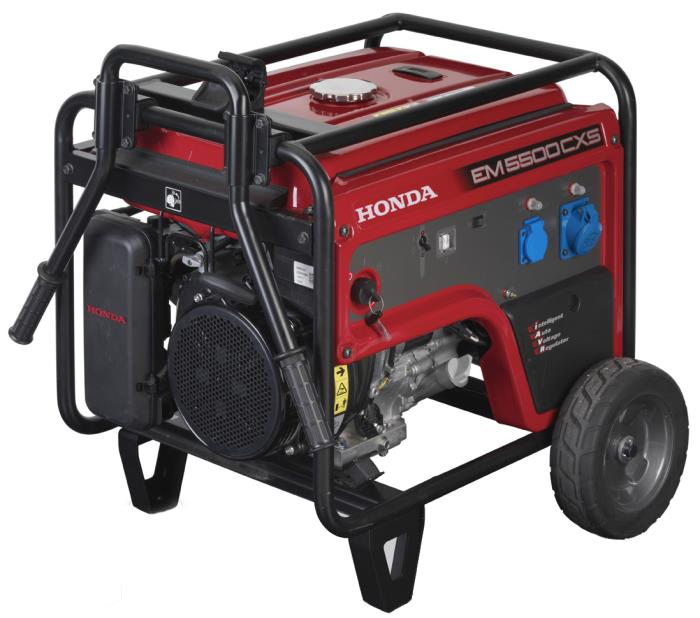 Generatore honda em 5500 cxs2 con avviamento elettrico e for Generatore di corrente honda usato