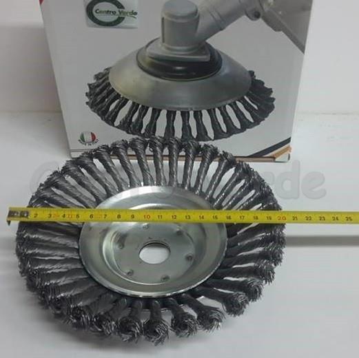 Spazzola Universale con Diametro 200 mm per Decespugliatori