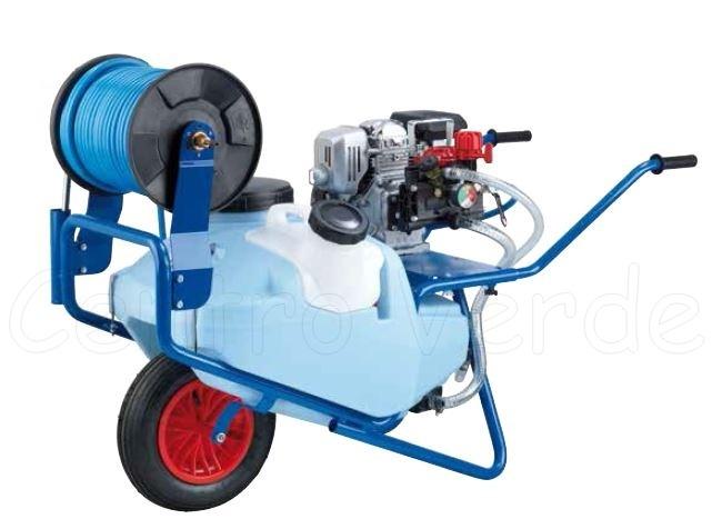 Carriola car75 con motore rato 100 a benzina e pompa ar202 for Pompe laghetti prezzi