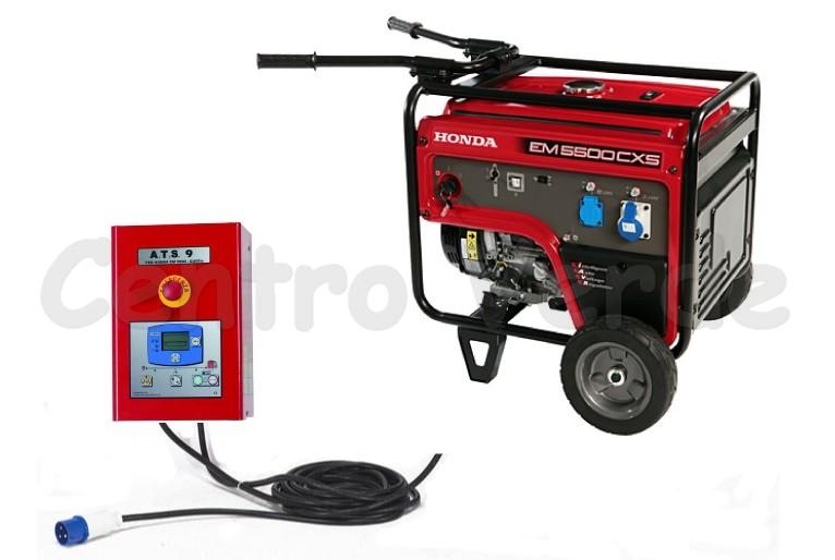 generatore honda di emergenza backup 55 con avvio automatico